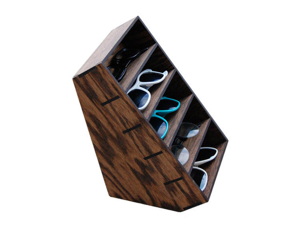 Wooden Sunglasses Organizer - ModiDen
