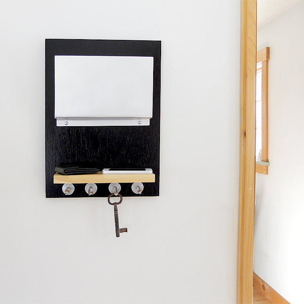 Hand Crafted Wall Mount Key and Mail Organizer - ModiDen