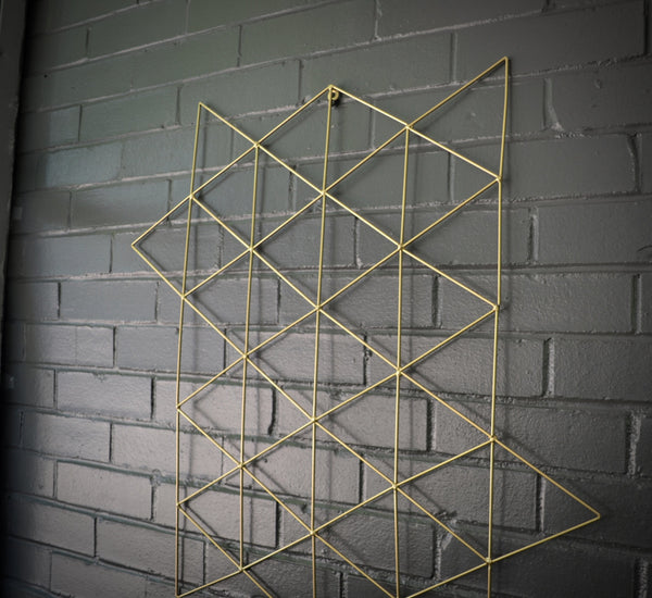 Triangle Geometric Steel Metal Wall Art - ModiDen