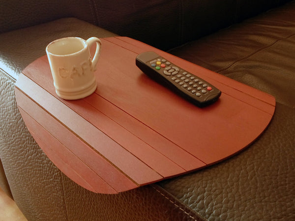 Circular Wood Sofa Tray - ModiDen