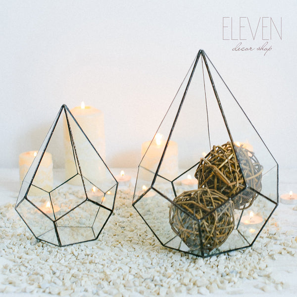 Geometric Glass Terrarium - ModiDen