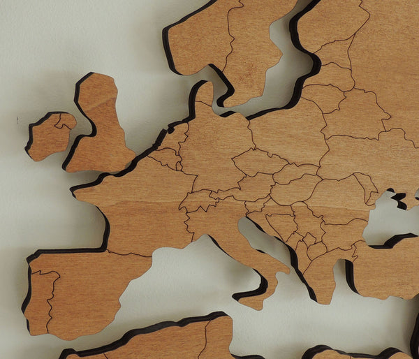 3d wooden world map with engraved land borders modiden 3d wooden world map with engraved land borders modiden gumiabroncs Images