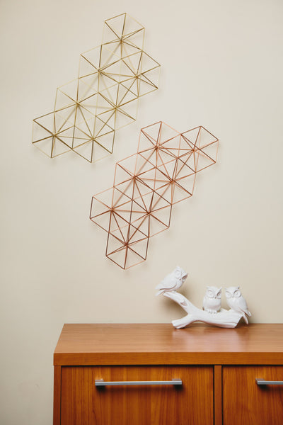 Abstract Geometric Wall Grid - ModiDen