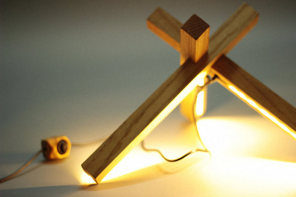 Modern LED Wooden Desk Lamp - ModiDen