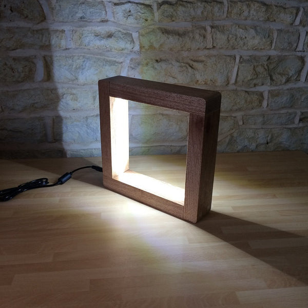 "3D Illusive LED Table Lamp - ""Ecliss"" - ModiDen"