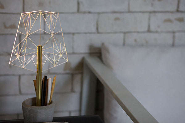 Concrete Pen Holder & Office Lamp - ModiDen