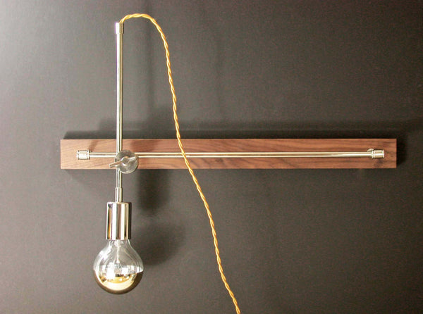Adjustable Wooden Wall Lamp - ModiDen