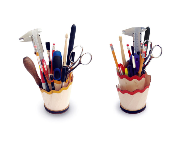 """Pencil Shaving"" Desk Organizer - ModiDen"