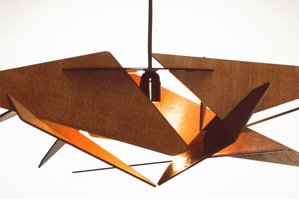 Flat-Pack Modern Hanging Lamp - ModiDen