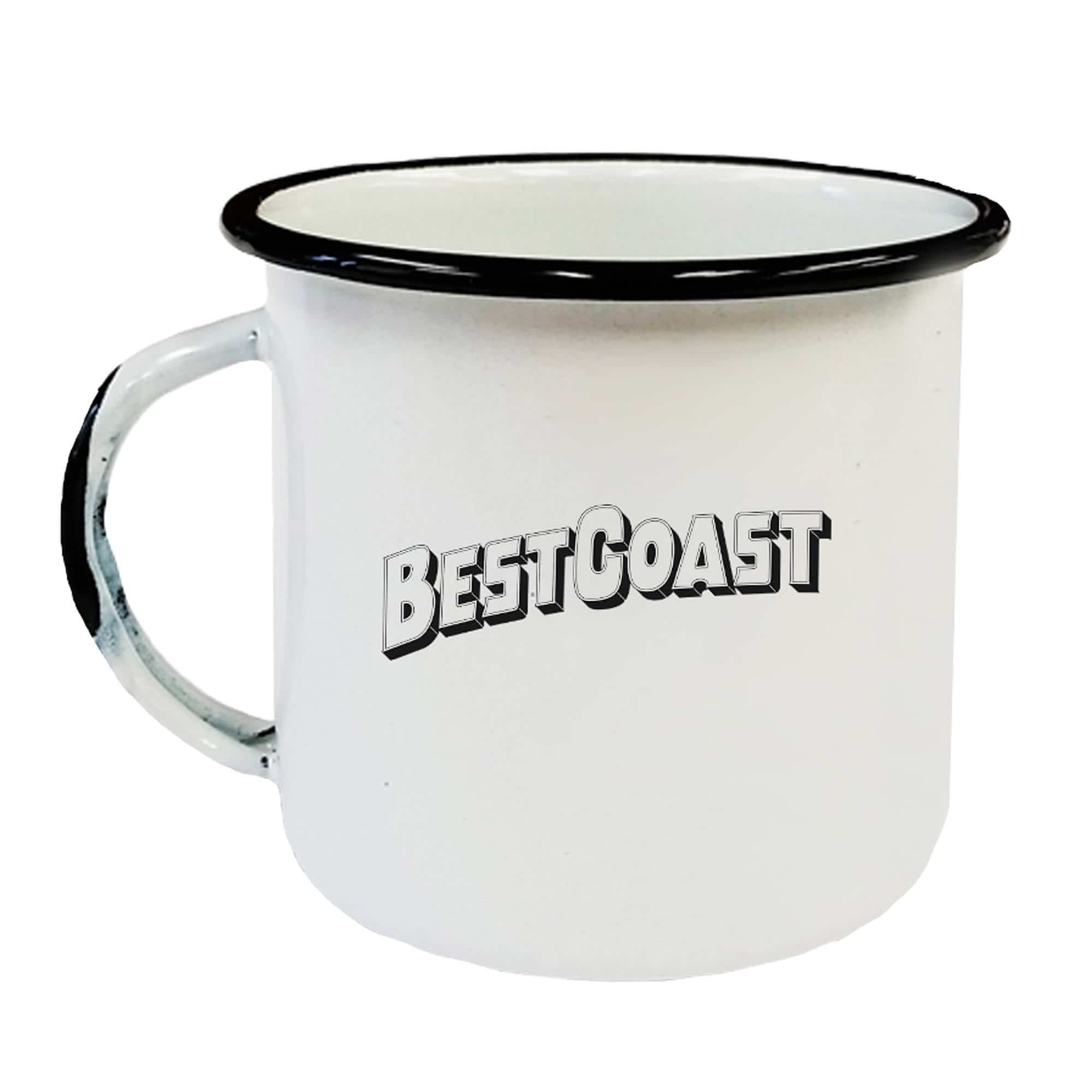 Best Coast Enamel Mug