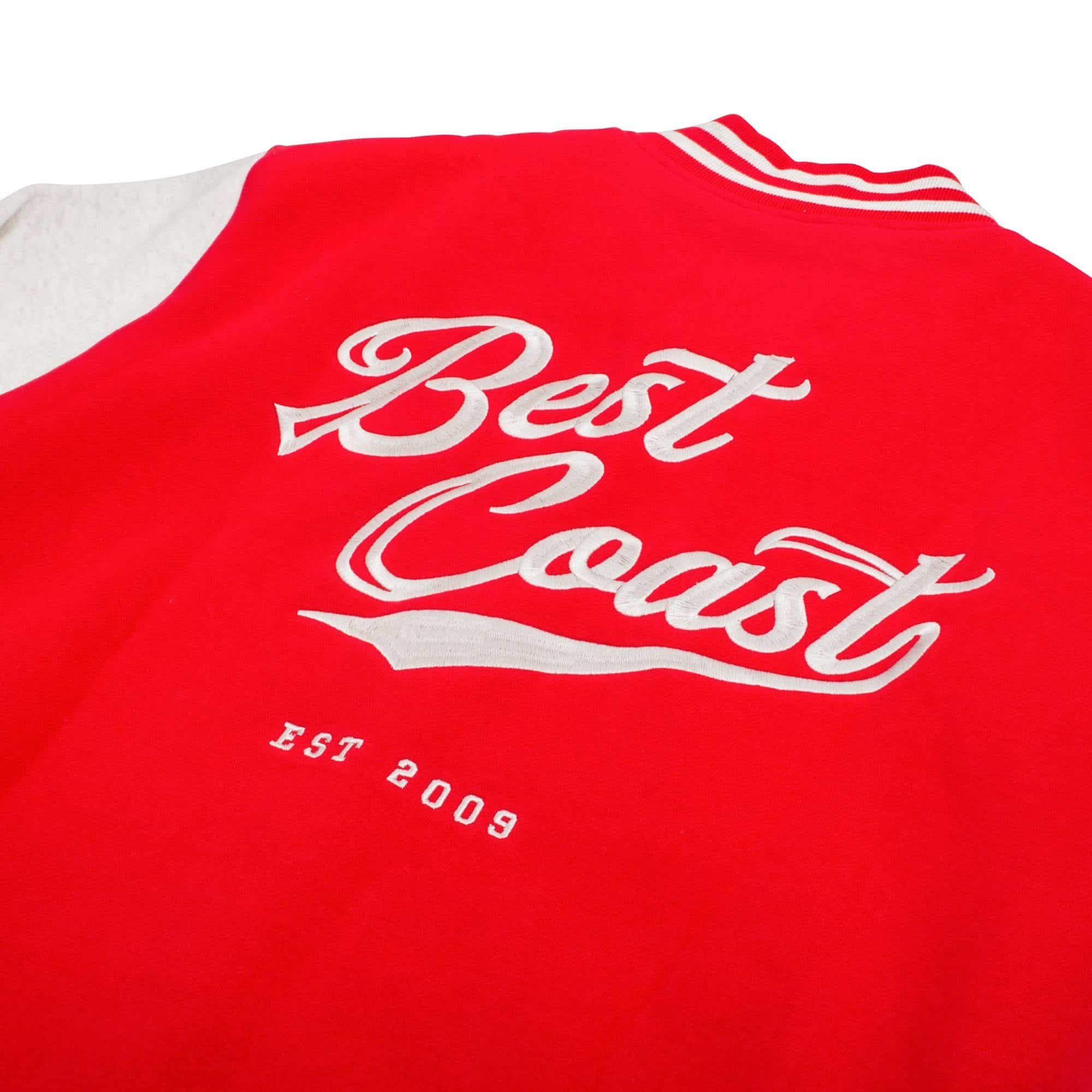 'Best Coast' Varsity Jacket
