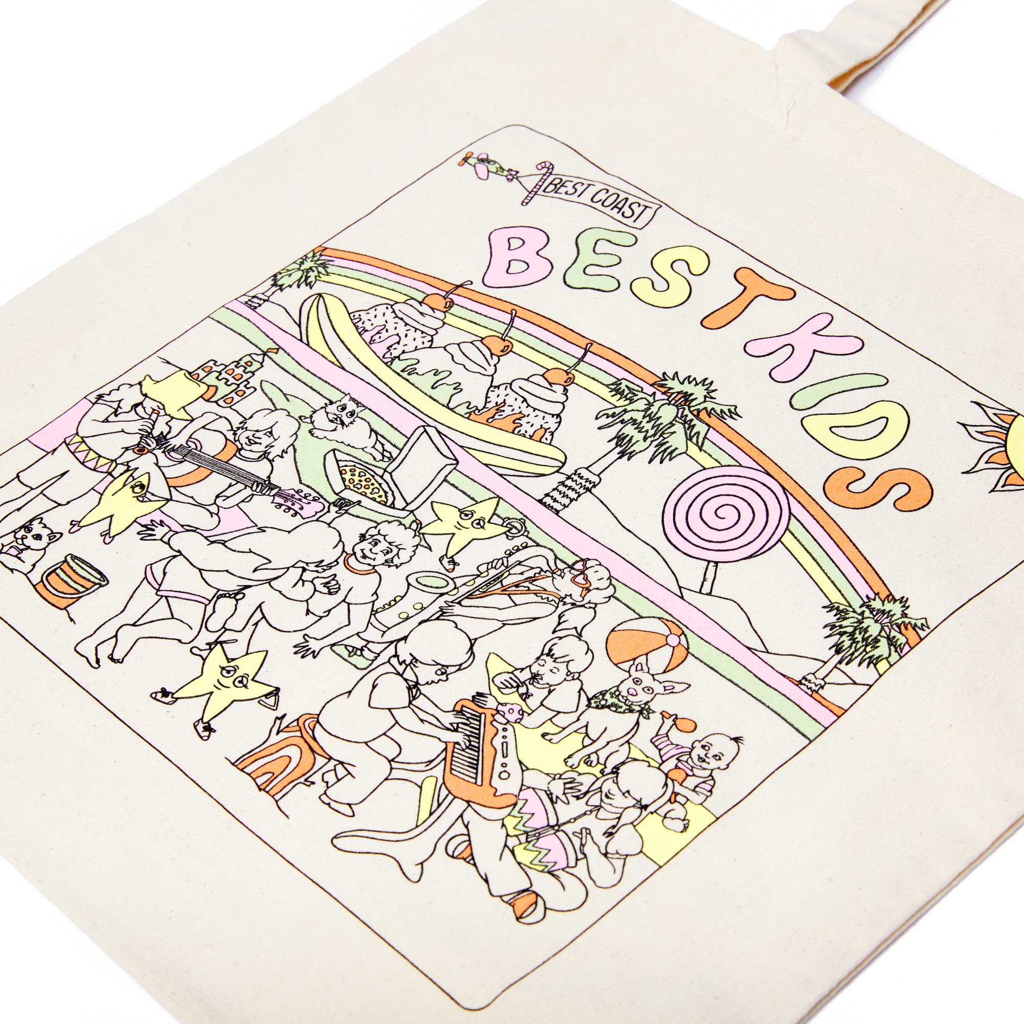Best Coast 'Best Kids' Tote Bag