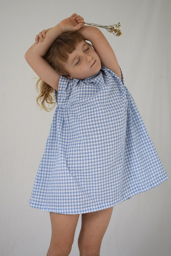 Field Dress | Bluebird Check