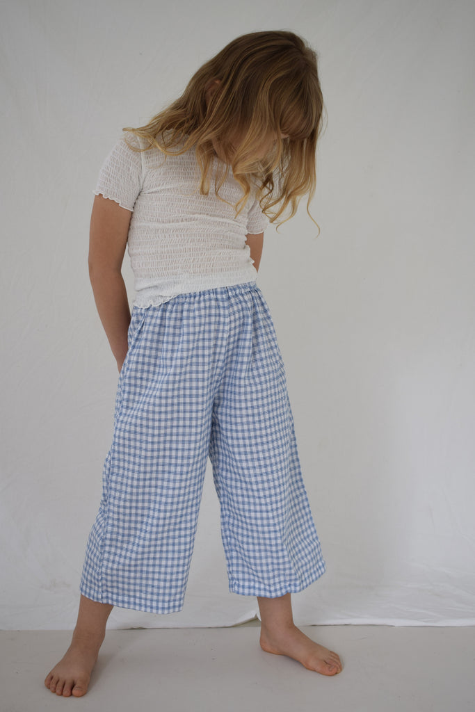 Fall Pants | Bluebird Check