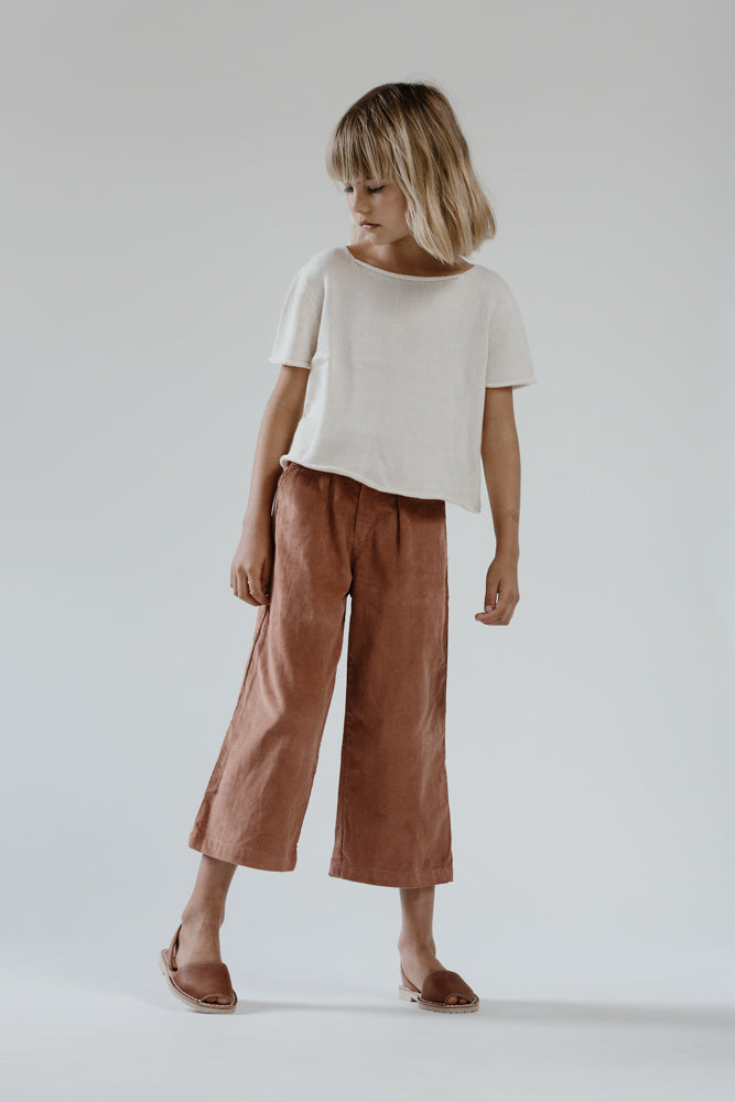 Kip Trousers- Rose Cord