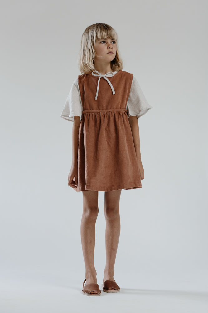 Greta Dress- Rose Cord