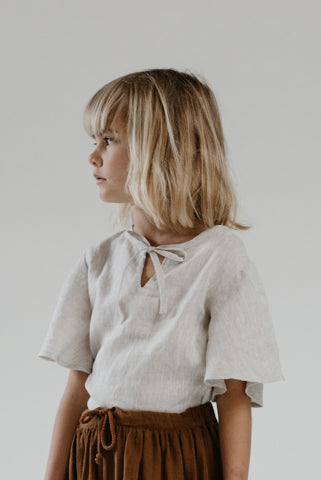 Anja Blouse- Natural