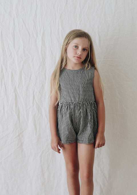 Juneau Sunsuit- Gingham
