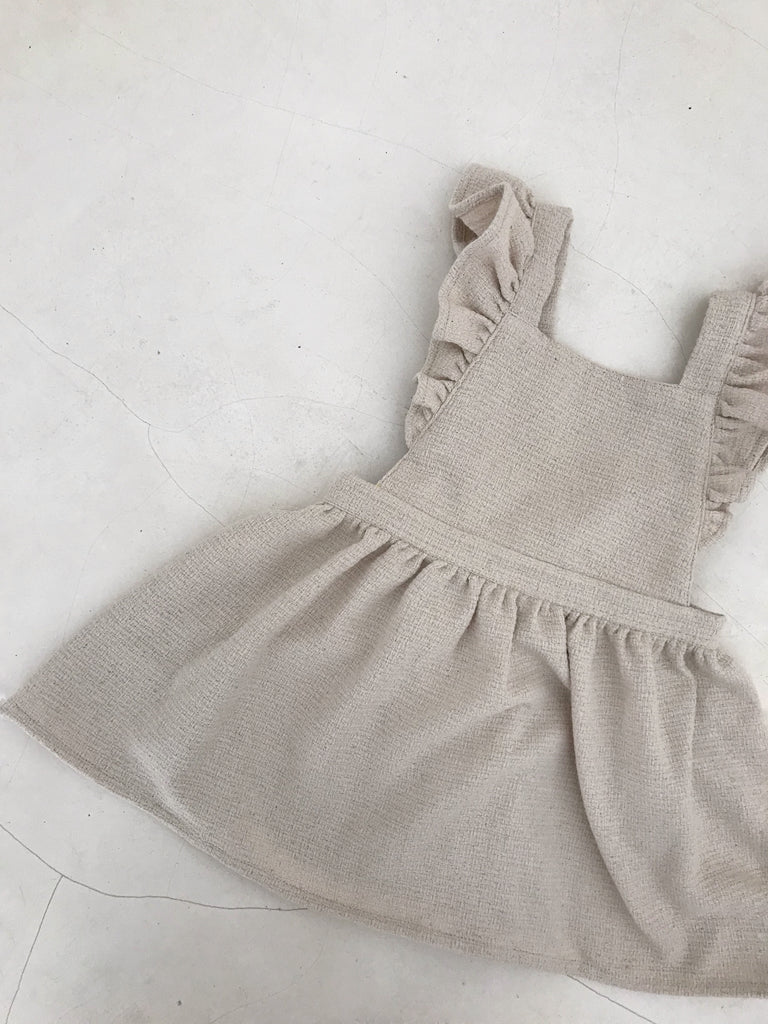 Dusk Pinafore- Milk