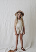 Juneau Sunsuit- Dust Stripe