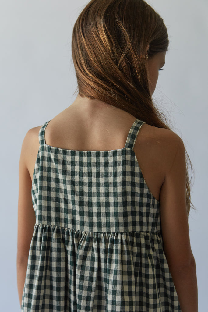 Picnic Dress | Hunter Check
