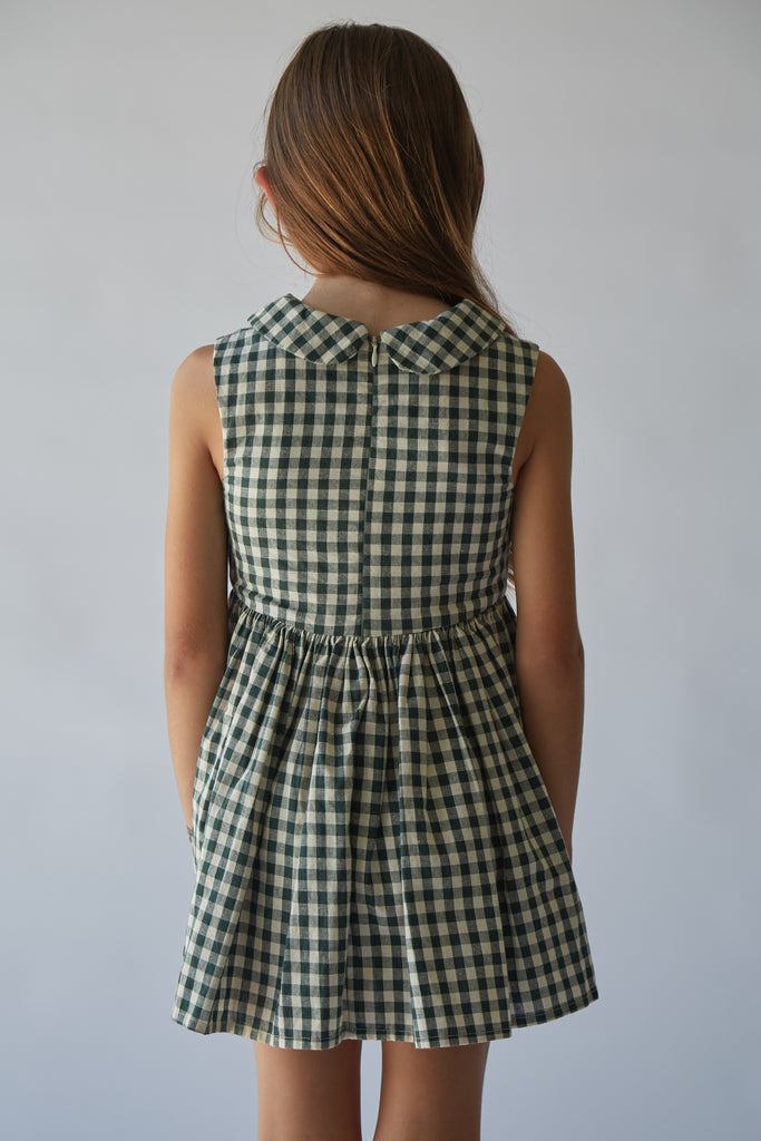Sunday Dress | Hunter Check