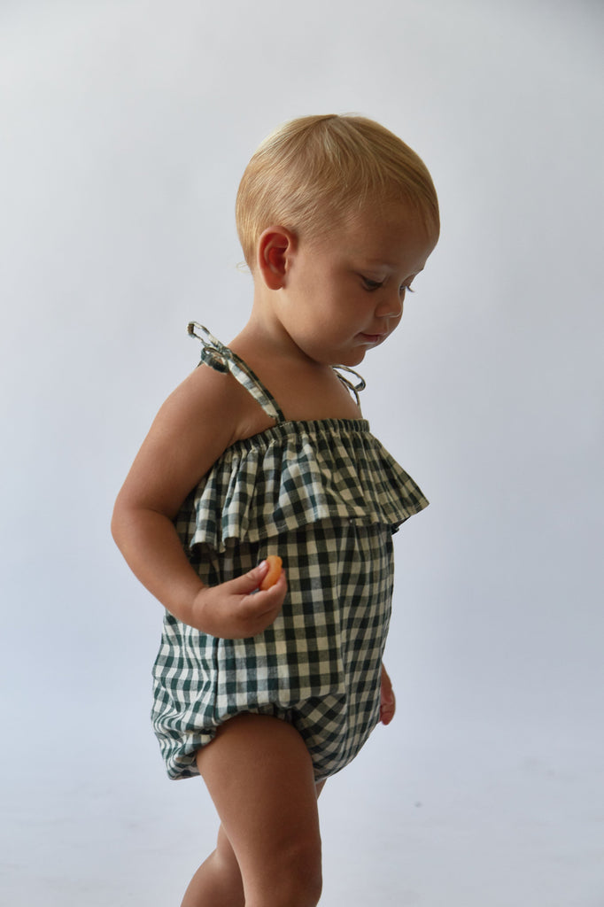 Maja Romper | Hunter Check