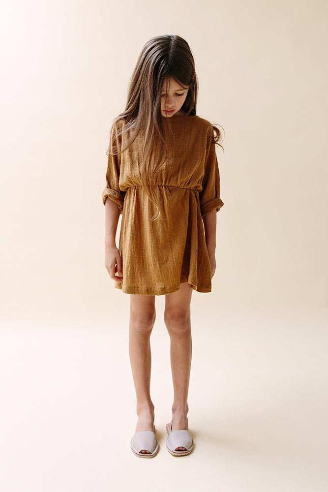 Easy Dress- Ochre