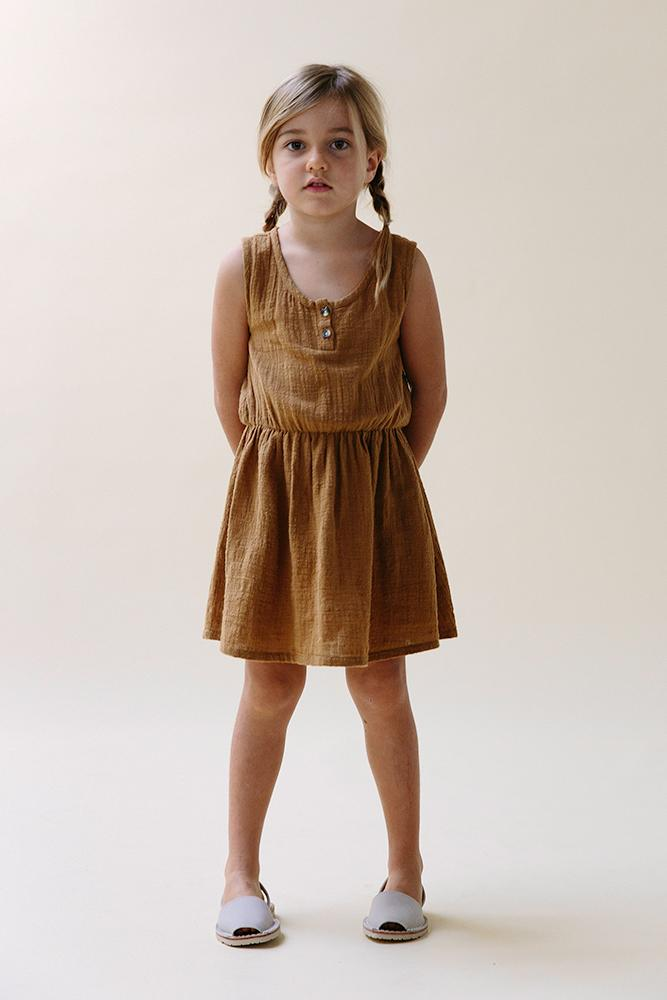 Remember Dress- Ochre