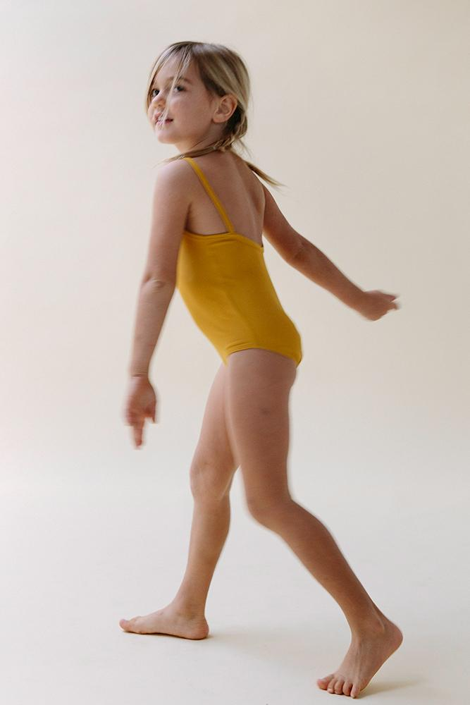 Falk Swimsuit- Goldenrod