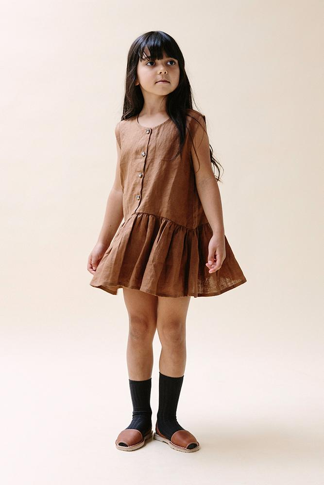 Anouk Dress- Earth