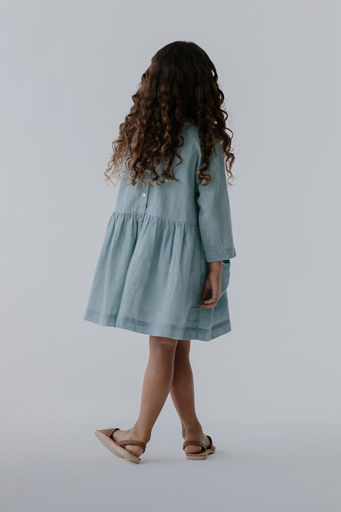 Mara Dress | Azure