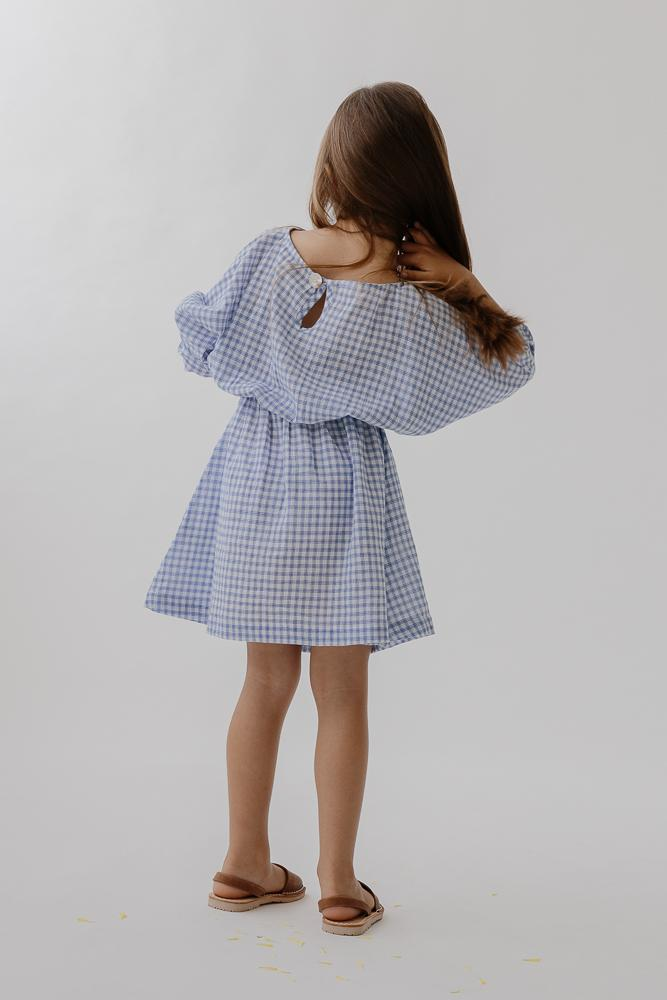 Easy Dress | Bluebird check