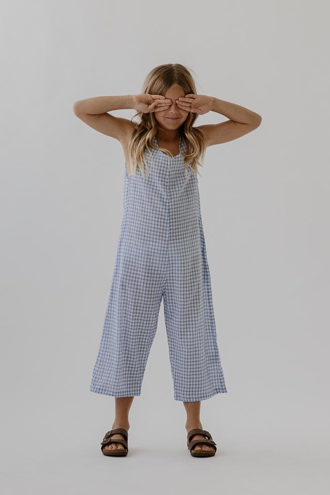 Georgia Pantsuit | Bluebird Check