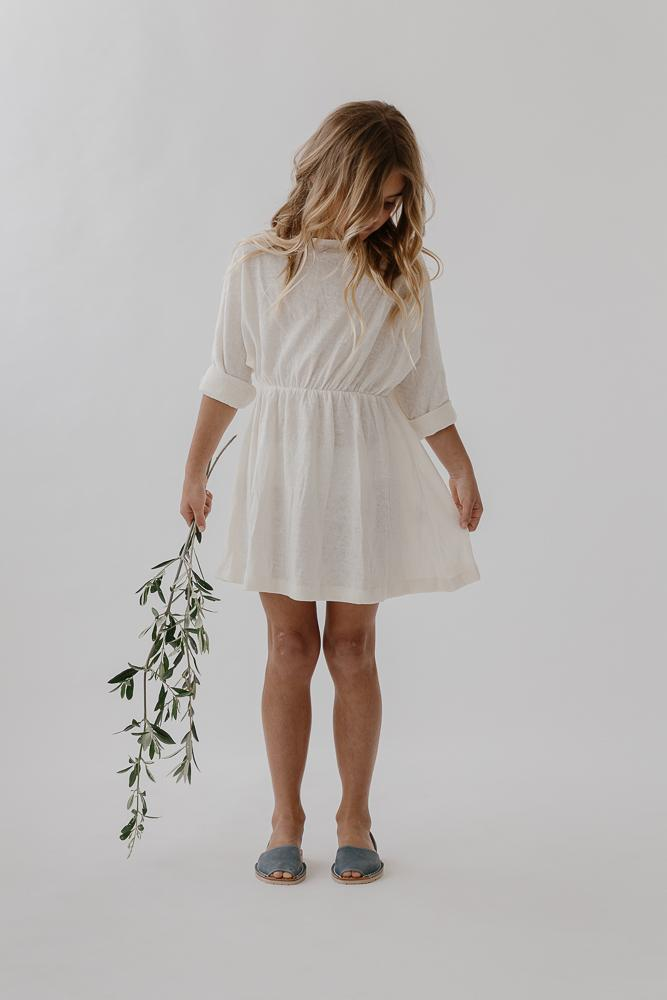 Lounge Dress | Linen Knit