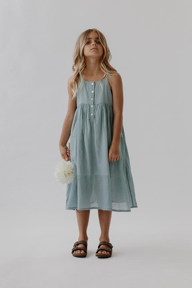 Picnic Dress | Azure