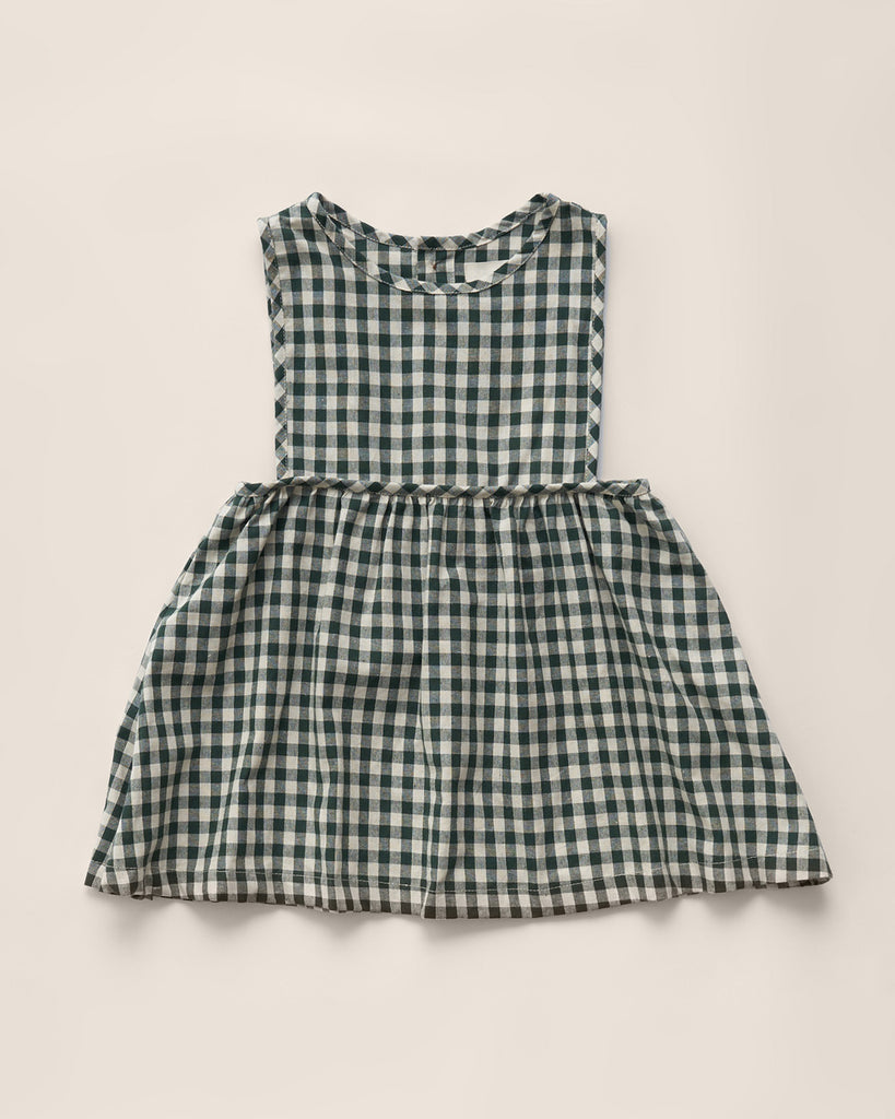 Greta Dress | Hunter Check