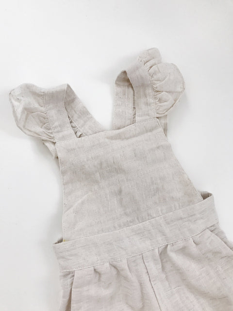 Dusk Overalls - Dust Stripe