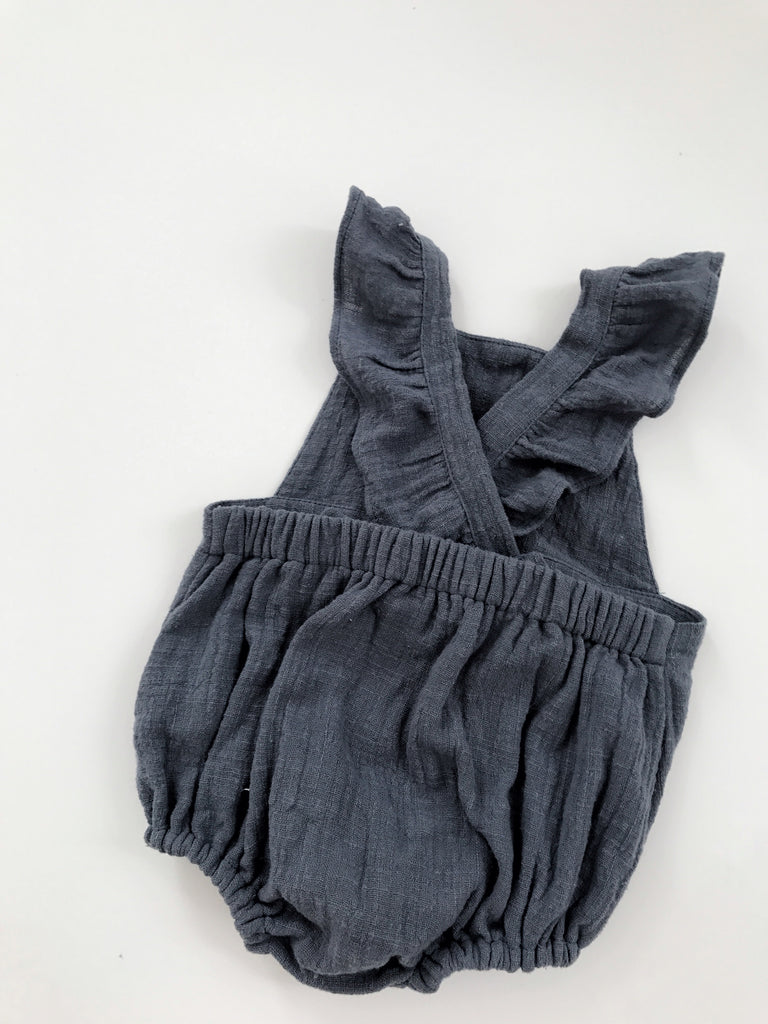 Sparrow Romper- Blue