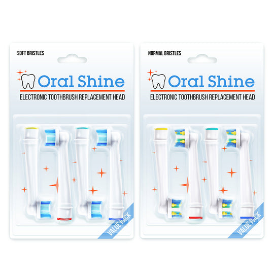 The Ultimate Oral B Braun Replacement Electric Toothbrush Heads + FREE BONUS