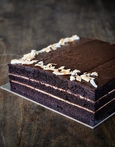 Chocolate Kaya Cake