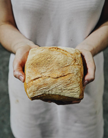 Hand Cut Ciabatta Roll