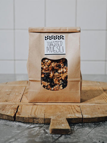 Brickfields Toasted Muesli 750g