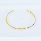 Willow Branch Cuff Bracelet - 14-Karat Gold-Plated
