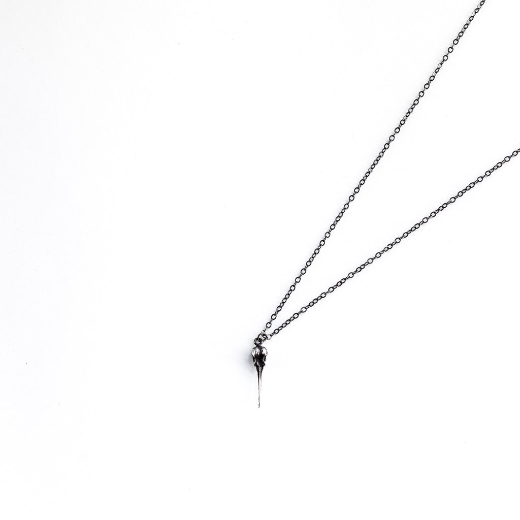 Sterling Silver Hummingbird Pendant Necklace