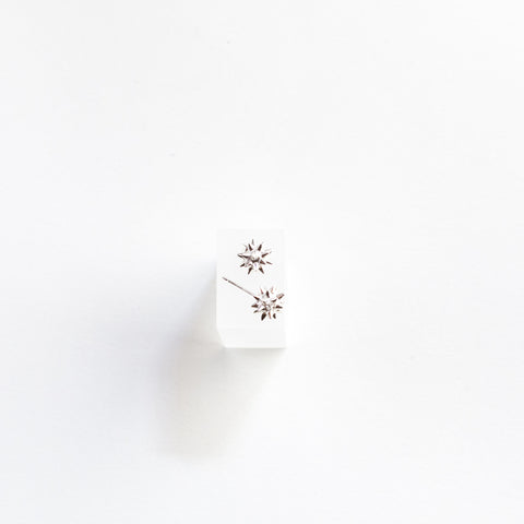 Sterling Silver Spike Stud Earrings