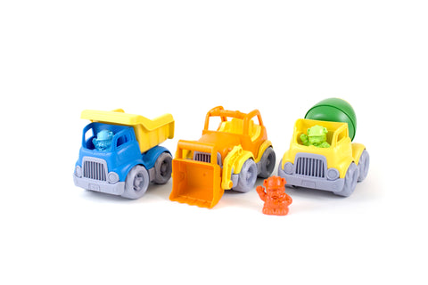 Green Toys Construction Vehicle (3 pack) Green Toys Special Needs Essentials