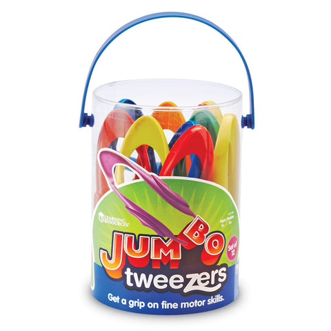 Jumbo Tweezers Learning Resources specialneedsessentials