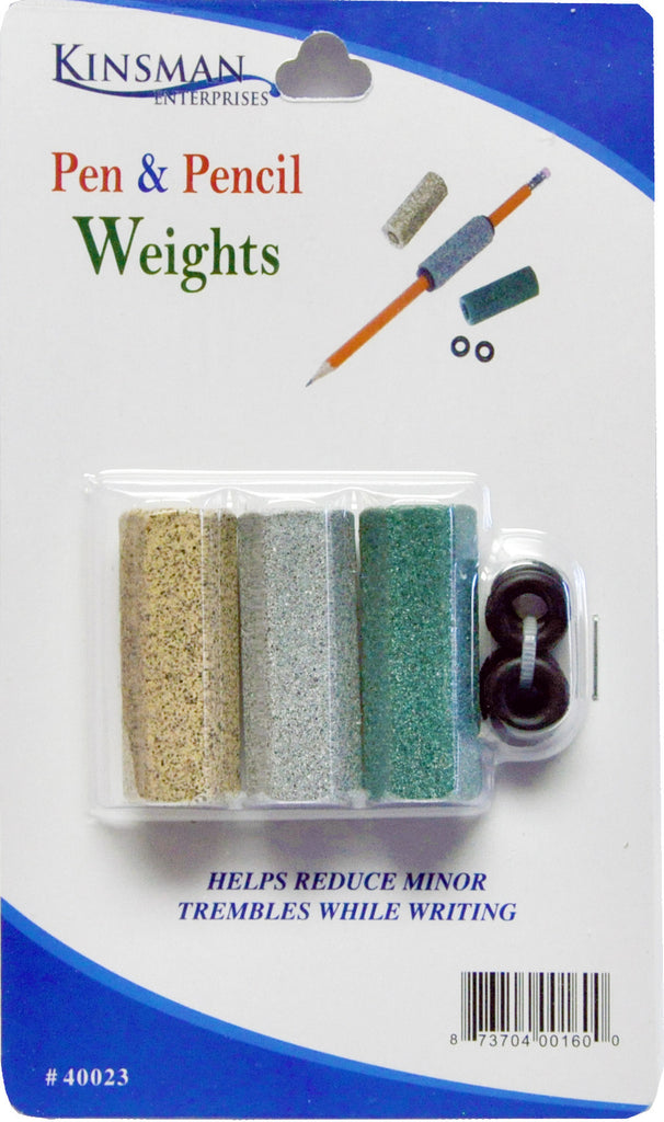 Heavyweight pencil weights are the perfect daily living aid and writing tool for adults or children.