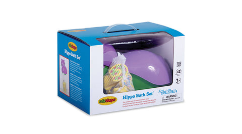 Hippo Bath Set - Play and Learn Edushape specialneedsessentials